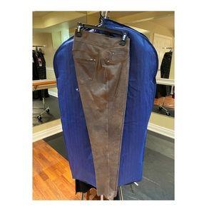 Women's Nygård Slims Faux Leather Leggings Medium